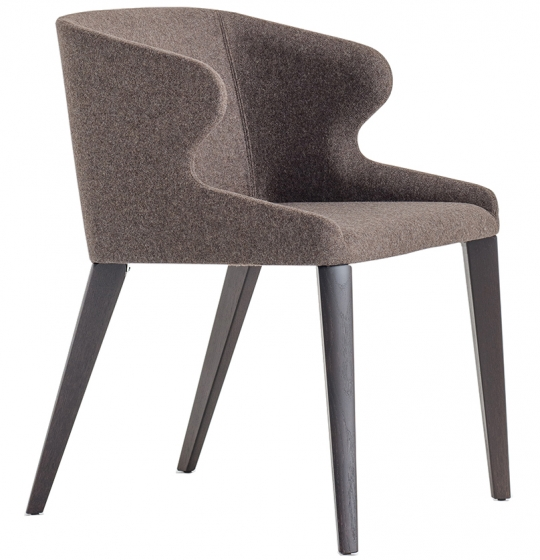 achat pedrali leila 681 fauteuil plaza mobilier acier cuir tissu promo fabrication italienne