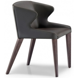 achat pedrali leila 681 fauteuil plaza mobilier acier cuir tissu promo fabrication italienne