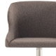 achat pedrali leila 683 fauteuil plaza mobilier acier cuir tissu inox tabouret chaise confort cocoon
