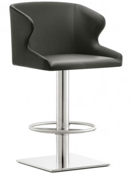 achat pedrali leila 687 tabouret plaza mobilier acier cuir tissu inox tabouret confortable bar