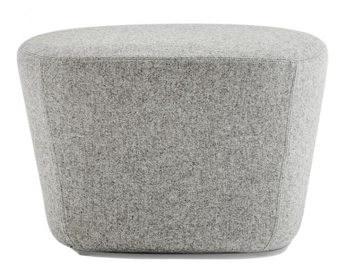 achat pedrali log 367 pouf plaza mobilier acier cuir tissu cocon