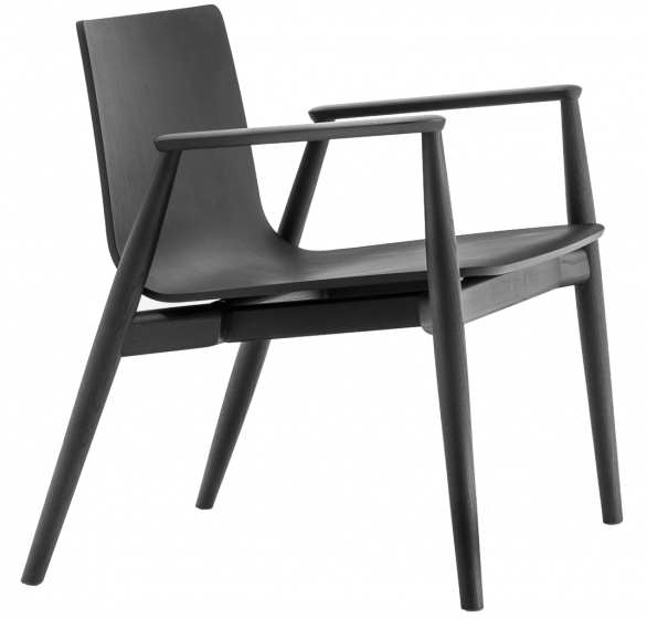 achat pedrali fauteuil malmo 295 stéphane plaza mobilier frêne promo bois sacndinave