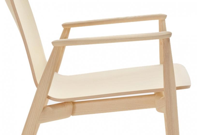 achat pedrali malmo fauteuil lounge 299 stéphane plaza mobilier bois frêne sacndinave