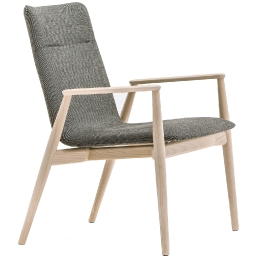 achat pedrali malmo fauteuil 298 stéphane plaza mobilier frêne design scandinave