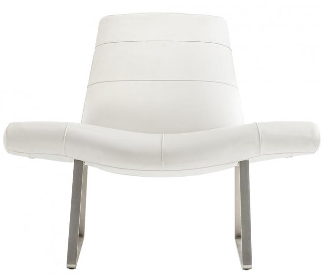 achat pedrali mies 415 fauteuil stéphane plaza mobilier design fauteuil accueil tres confortable acier et mousse