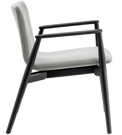 achat pedrali malmo fauteuil lounge 297 stéphane plaza mobilier frêne bois scandinave