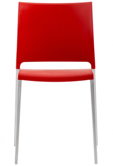 achat pedrali mya 700 chaise stéphane plaza mobilier promo noir rouge aluminium outdoor exterieur terrasse