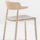 achat pedrali nemea 2825 fauteuil stéphane plaza mobilier frene promo bistro bois
