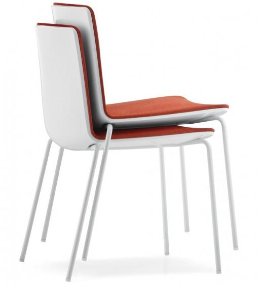 achat pedrali noa 725 chaise bureau plaza mobilier acier empilables contract