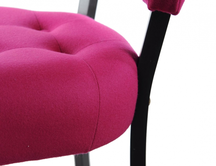 Chaise Vogue bois garnie