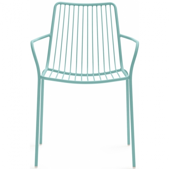 achat pedrali nolita 3656 fauteuil jardin métal dossier haut jardin cedre rouge