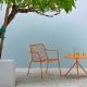achat pedrali nolita 3654 chaise lounge terrasse mobilier jardin