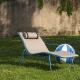 Coussin rembourré pedrali de mousse Adapté pour la chaise longue Nolita