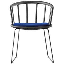 achat pedrali nym 2855 fauteuil bois frene metal windsor design collectivité