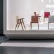 achat pedrali osaka 2815 fauteuil frene bois design maison retraite