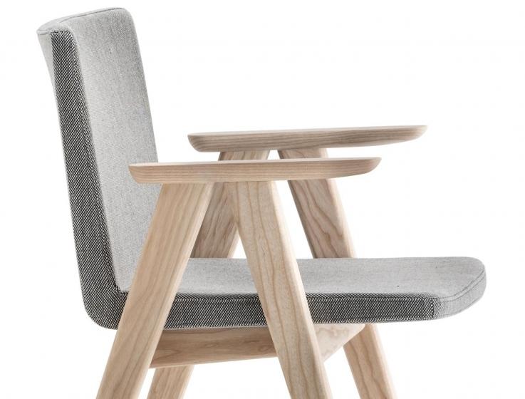 achat pedrali osaka 2816 fauteuil frene bois design confortable cuir