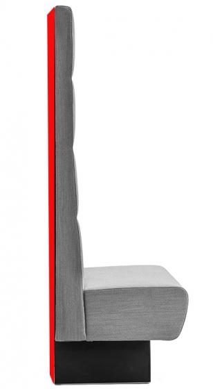 Panneau arrière pour banquette Modus Pedrali stratifié garnie tapissé