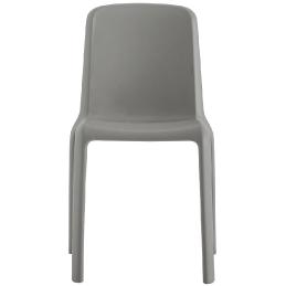 Chaise Snow Fioravanti Pedrali empilable design extérieur terrasse chaise bleu grise blanche verte rouge beige grise