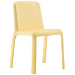 Chaise Enfants Snow Odo Fioravanti Pedrali resine empilable colorée chaise blanc jaune bleu rose jaune