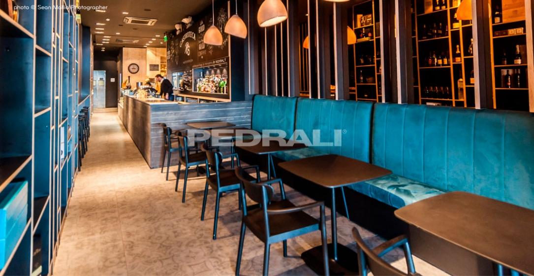 Fauteuil 2805 Bridge Tivoli CMP Design Pedrali frêne massif design SCANDINAVE