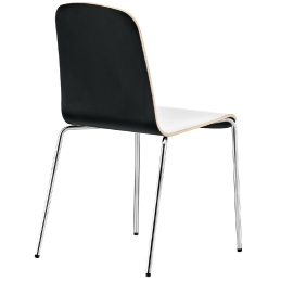 Chaise solide Trend 438 440 pedrali empilable acier chromé collectivité chr café restaurant