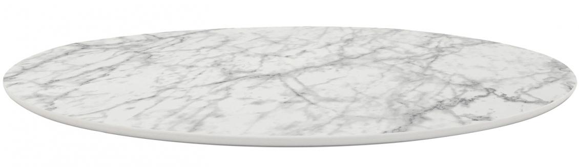 Plateau de table Fenix effet marbres Pedrali