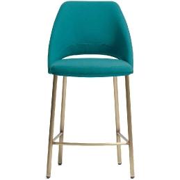 Chaise haute Vic Patrick Norguet Pedrali design hauteur assise 66 ou 76 cm