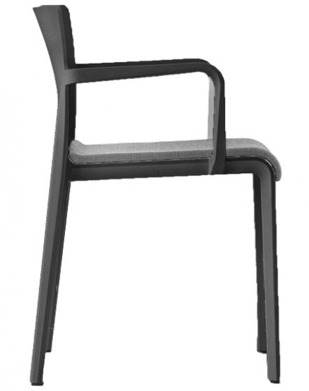 Fauteuil design empilable Volt Claudio Dondoli Pedrali Volt 676-2