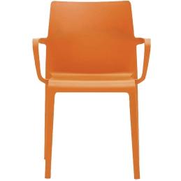 Fauteuil design Volt 674 HB Pedrali ergonomie résine empilable terrasse interieur exterieur orange bleu blanc noir rouge beige