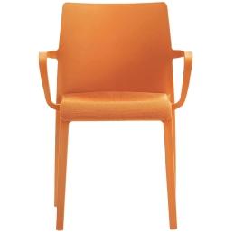 Fauteuil Volt design empilable Pedrali Volt 674/2 intérieur assise garnie tapissée