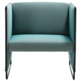 Fauteuil Zippo 100 Pedrali confortable ZIPL1P meeting espaces lounge