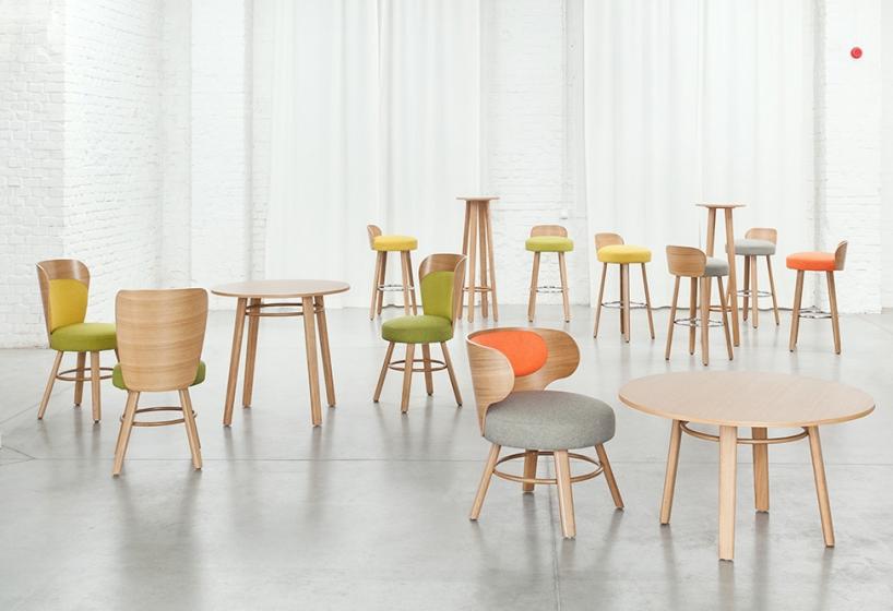 Table 4 pieds Karon hetre bois
