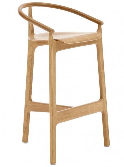 Chaise haute Evo bois hetre chene