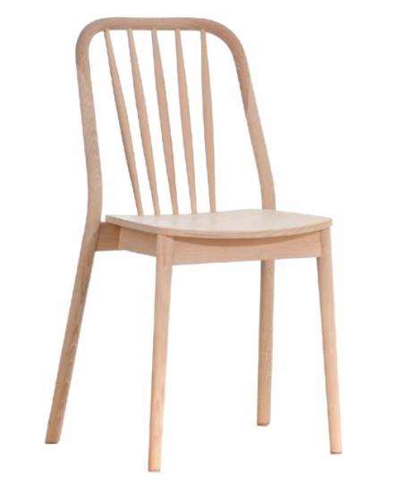 Chaise Alda hetre bois courbé