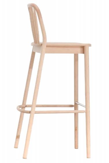 Chaise haute Alda hetre bois