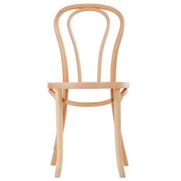Chaise 18 hetre bois courbé garnie