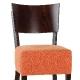 Chaise haute Ivy Deluxe bois garnie