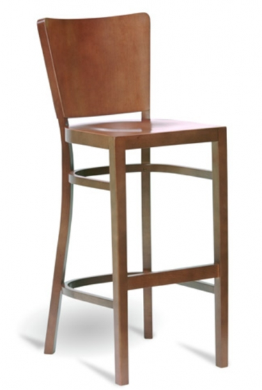 Chaise haute Zoe hetre bois