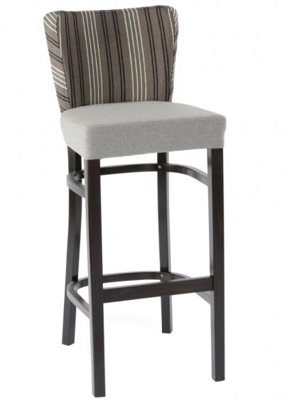 Chaise haute Veronik hetre bois garnie