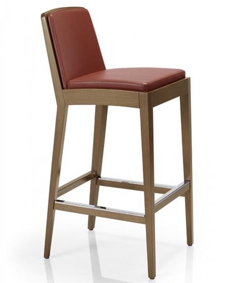 Chaise haute Othello bois hetre garnie